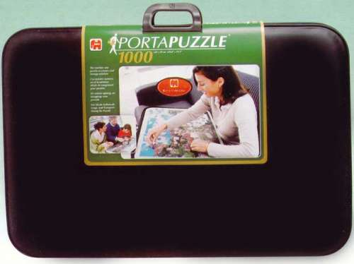 Portapuzzle Deluxe 1000pc (JUM01039), a 1000 piece jigsaw puzzle by Jumbo. Click to view larger image.