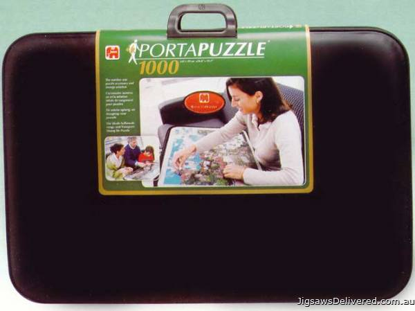 Portapuzzle Deluxe 1000pc (JUM01039), a 1000 piece jigsaw puzzle by Jumbo.
