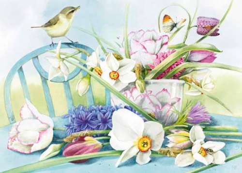 Spring (HEY29525), a 1000 piece jigsaw puzzle by HEYE. Click to view larger image.