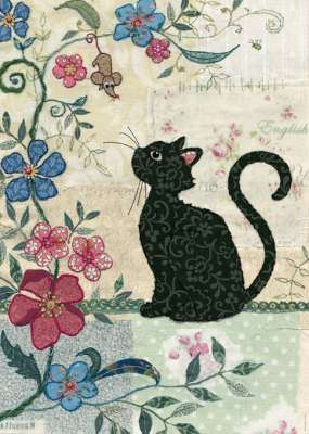Cat and Mouse (HEY29808), a 1000 piece jigsaw puzzle by HEYE. Click to view larger image.