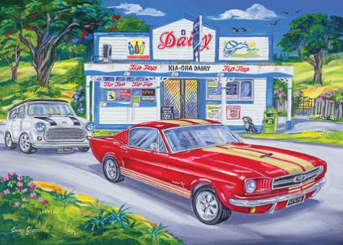 Kia-Ora Dairy (Southern Skies) (HOL770168), a 1000 piece jigsaw puzzle by Holdson. Click to view larger image.