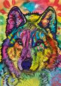 Wolf's Soul (HEY29809), a 1000 piece jigsaw puzzle by HEYE and artist Dean Russo. Click to view this jigsaw puzzle.