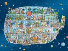 Spaceship (HEY29841), a 1500 piece HEYE jigsaw puzzle.