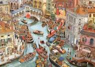 O Sole Mio (HEY29843), a 2000 piece jigsaw puzzle by HEYE and artist Doro Gobel. Click to view this jigsaw puzzle.