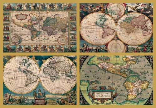 Historical world map 18000pc jigsaw by ravensburger rb17821 6 historical world map 18000pc rb17821 6 a 18000 piece jigsaw gumiabroncs Image collections