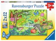 Animals in Our Garden (RB07610-9), a 12 piece Ravensburger jigsaw puzzle.
