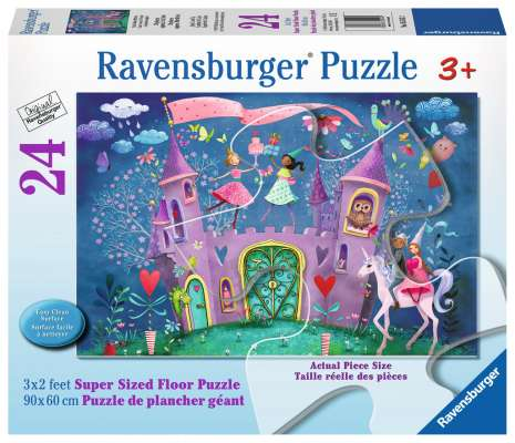 Brilliant Birthday (RB05543-2), a 24 piece jigsaw puzzle by Ravensburger. Click to view larger image.