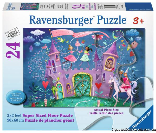 Brilliant Birthday (Giant Floor Puzzle) (RB05543-2), a 24 piece jigsaw puzzle by Ravensburger.