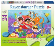 Deep Diving Friends (RB05544-9), a 24 piece Ravensburger jigsaw puzzle.