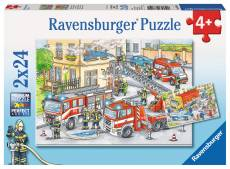 Heroes in Action (RB07814-1), a 24 piece Ravensburger jigsaw puzzle.