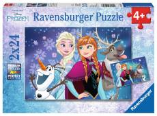 Disney Northern Lights (Twin pack) (RB09074-7), a 24 piece Ravensburger jigsaw puzzle.