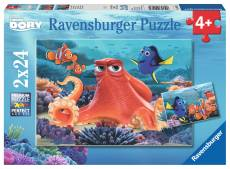 Disney Finding Dory (Twin pack) (RB09103-4), a 24 piece Ravensburger jigsaw puzzle.