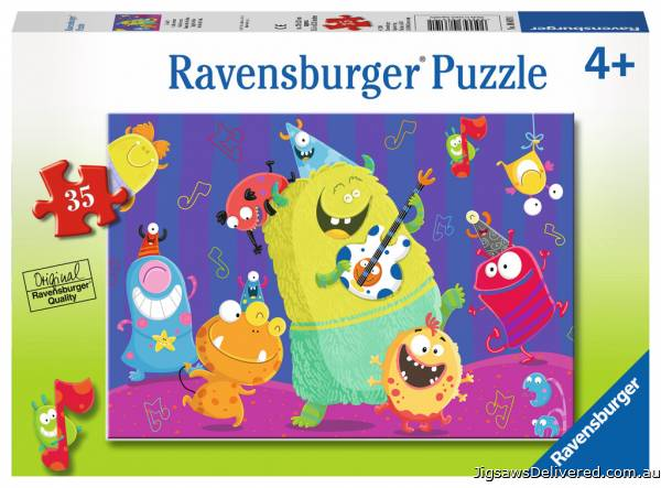 Giggly Goblins (RB08619-1), a 35 piece jigsaw puzzle by Ravensburger.