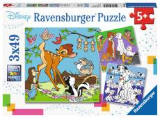 Disney Princess 3 (Triple pack) (RB08043-4), a 49 piece Ravensburger jigsaw puzzle.