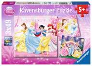 Disney Snow White (Triple pack) (RB09277-2), a 49 piece Ravensburger jigsaw puzzle.