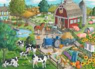 Home on the Range (RB09640-4), a 60 piece jigsaw puzzle by Ravensburger. Click to view this jigsaw puzzle.