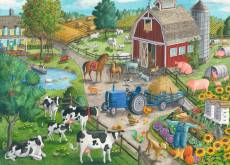 Home on the Range (RB09640-4), a 60 piece Ravensburger jigsaw puzzle.