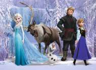 Disney Frozen - The Realm of the Snow Queen (RB10516-8), a 100 piece Ravensburger jigsaw puzzle.