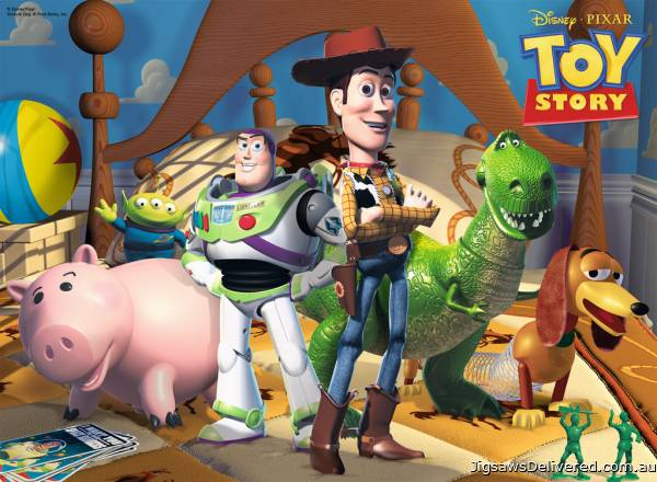 Disney Toy Story 3 (RB10835-0), a 100 piece jigsaw puzzle by Ravensburger.