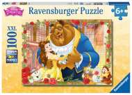 Disney Belle & Beast (RB13704-6), a 100 piece Ravensburger jigsaw puzzle.