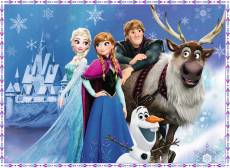 Disney Frozen Friends at the Palace (RB10027-9), a 150 piece Ravensburger jigsaw puzzle.