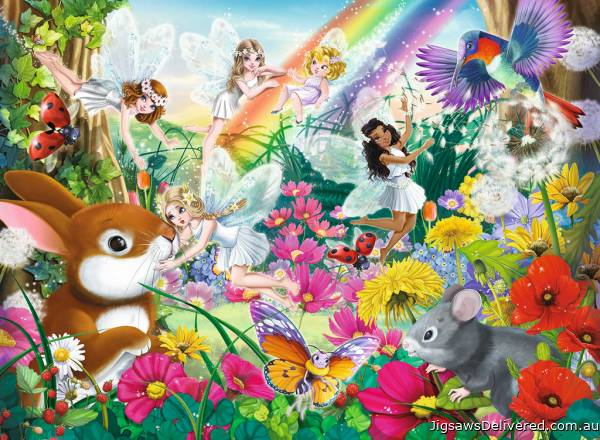 Beautiful Fairy Forest (RB10044-6), a 150 piece jigsaw puzzle by Ravensburger.