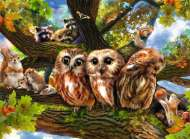 Woodland Neighbours (RB12746-7), a 200 piece Ravensburger jigsaw puzzle.