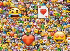 Emoji (RB13240-9), a 300 piece jigsaw puzzle by Ravensburger. Click to view this jigsaw puzzle.