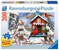 The Lodge (Large Pieces) (RB13591-2), a 300 piece Ravensburger jigsaw puzzle.