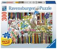 Colour with Me (Large Pieces) (RB13592-9), a 300 piece Ravensburger jigsaw puzzle.