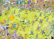 The Soccer Match (RB14786-1), a 500 piece Ravensburger jigsaw puzzle.