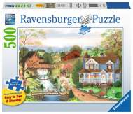 Fishing Lesson (Large Pieces) (RB14959-9), a 500 piece Ravensburger jigsaw puzzle.