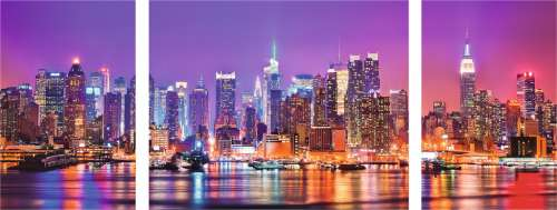 New York (RB19792-7), a 1000 piece jigsaw puzzle by Ravensburger. Click to view larger image.