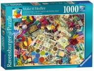Make it Medley (RB19824-5), a 1000 piece Ravensburger jigsaw puzzle.