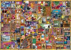 The Collector's Cupboard (RB19827-6), a 1000 piece Ravensburger jigsaw puzzle.