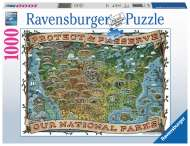 American National Parks (RB19859-7), a 1000 piece Ravensburger jigsaw puzzle.