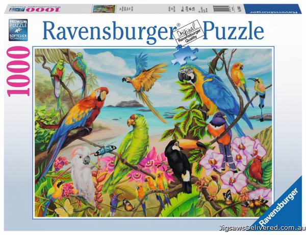 The Coo (RB19861-0), a 1000 piece jigsaw puzzle by Ravensburger.