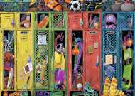 The Locker Room (RB19862-7), a 1000 piece Ravensburger jigsaw puzzle.