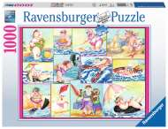 Bathing Beauties (RB19864-1), a 1000 piece jigsaw puzzle by Ravensburger. Click to view this jigsaw puzzle.