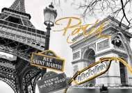 Golden Paris (Touch of Gold) (RB19935-8), a 1200 piece Ravensburger jigsaw puzzle.
