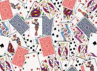 52 Shuffle (Playing Cards) (RB14800-4), a 500 piece Ravensburger jigsaw puzzle.