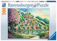 Blossom Park (RB14798-4), a 500 piece Ravensburger jigsaw puzzle.