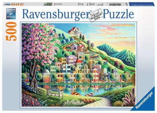 Blossom Park (RB14798-4), a 500 piece jigsaw puzzle by Ravensburger. Click to view larger image.