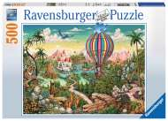 Hot Air Hero (RB14799-1), a 500 piece Ravensburger jigsaw puzzle.
