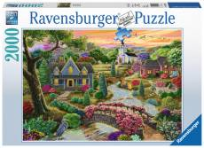 Enchanted Valley  (RB16703-6), a 2000 piece Ravensburger jigsaw puzzle.