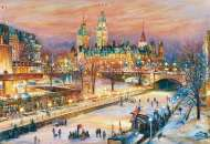 Ottawa Canada - Winterlude Festival (RB19868-9), a 1000 piece jigsaw puzzle by Ravensburger. Click to view this jigsaw puzzle.