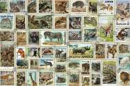 Animal Stamps (RB17079-1), a 3000 piece Ravensburger jigsaw puzzle.