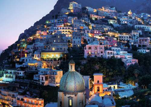 Positano, Italy (RB19866-5), a 1000 piece jigsaw puzzle by Ravensburger. Click to view larger image.