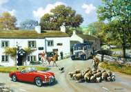 Driving in the Dales (2 x 500pc) (JUM11215), a 500 piece Jumbo jigsaw puzzle.