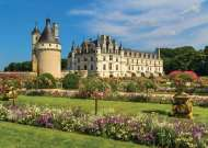 Castle in the Loire Valley, France (JUM18555), a 1000 piece Jumbo jigsaw puzzle.